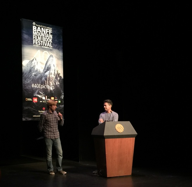 SmugMug's Filmmaker Anton Lorimer at the Banff Film Festival