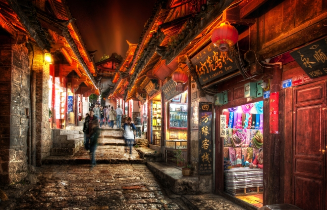 Lijiang at Night (1)